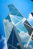 Prédio de escritórios de Hong Kong Fotografia de Stock