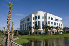 Prédio de escritórios em Florida Imagem de Stock Royalty Free
