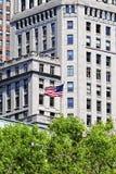 Prédio de escritórios em New York City Fotografia de Stock