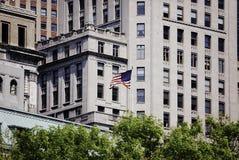 Prédio de escritórios em New York City Imagens de Stock