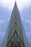 Prédio de escritórios futurista Imagem de Stock Royalty Free