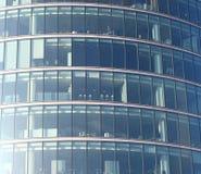 Prédio de escritórios genérico Fotos de Stock Royalty Free