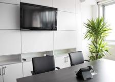 Prédio de escritórios interior Foto de Stock Royalty Free