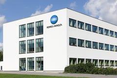 Prédio de escritórios de Konica Minolta Foto de Stock