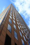 Prédio de escritórios moderno Fotografia de Stock Royalty Free