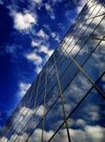 Prédio de escritórios Windows Imagens de Stock Royalty Free
