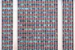 Prédio de escritórios Windows Imagens de Stock