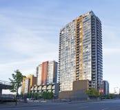 Prédios de apartamentos Foto de Stock
