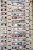 Prédios de apartamentos longos em Monte - Carlo foto de stock royalty free