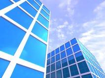 Prédios de escritórios Fotos de Stock