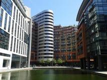 Prédios de escritórios da bacia de Paddington Fotos de Stock