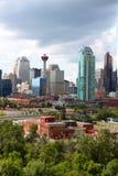 Prédios de escritórios de Calgary Foto de Stock