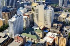Prédios de escritórios em Atlanta da baixa Imagens de Stock
