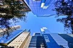 Prédios de escritórios em New York Foto de Stock