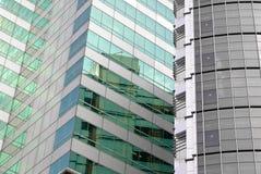 Prédios de escritórios exteriores Imagem de Stock