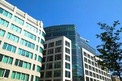 Prédios de escritórios modernos Foto de Stock