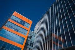 Prédios de escritórios modernos Fotos de Stock Royalty Free