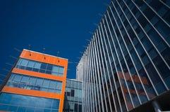 Prédios de escritórios modernos Imagem de Stock