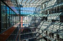 Prédios de escritórios modernos Fotografia de Stock Royalty Free