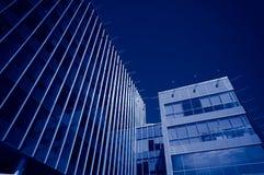 Prédios de escritórios modernos Imagem de Stock Royalty Free