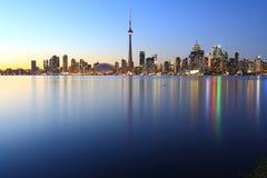Prédios de escritórios na cidade de Toronto Imagem de Stock