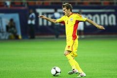 Préliminaires de la coupe du monde 2014 : La Roumanie-Andorre Images libres de droits