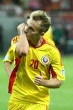 Préliminaires de la coupe du monde 2014 : La Roumanie-Andorre Photos libres de droits