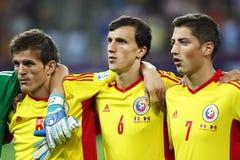 Préliminaires de la coupe du monde 2014 : La Roumanie-Andorre Photographie stock libre de droits