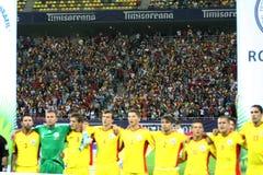 Préliminaires de la coupe du monde 2014 : La Roumanie-Andorre Photographie stock