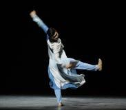 Prélude de score-Le de musique de consolidation des événements de drame-Shawan de danse du passé Photo libre de droits