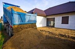 Préparation à la construction Photographie stock