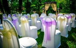 Préparation à un mariage Photographie stock libre de droits