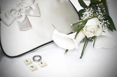 Préparation à votre jour du mariage image libre de droits