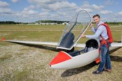 Préparation au décollage photo libre de droits