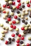 Préparation colorée de poivrons photo stock
