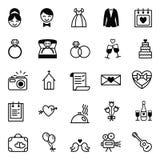Préparation d'icônes pour le mariage Photographie stock