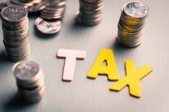 Préparation d'impôts Image stock