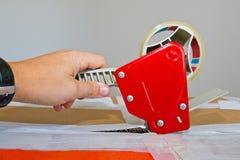Préparation d'un paquet Image stock