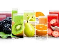 Préparation de boissons de fruit Photos stock