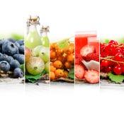 Préparation de boissons de fruit Photo libre de droits