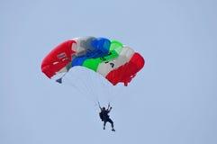 Préparation de championnat de parachutage militaire du monde Image libre de droits