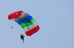 Préparation de championnat de parachutage militaire du monde Photographie stock