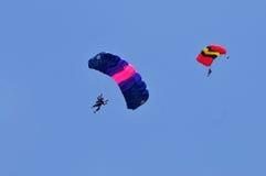 Préparation de championnat de parachutage militaire du monde Photo libre de droits