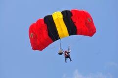 Préparation de championnat de parachutage militaire du monde Photos libres de droits