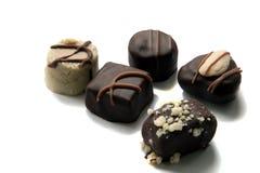 préparation de chocolat de sucrerie Photographie stock