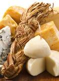 Préparation de fromage Photos libres de droits