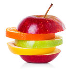 Préparation de fruit Photos libres de droits
