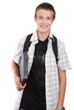 préparation de l'adolescent d'école à Images libres de droits