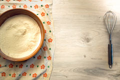 Préparation de la pâte Photographie stock