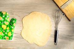 Préparation de la pâte Photo stock